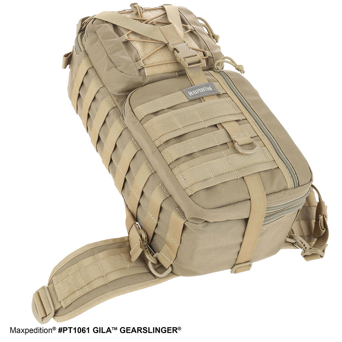 Maxpedition MXPT1061B Black Gila Hunting Tactical Gear Gearslinger Backpack Bag